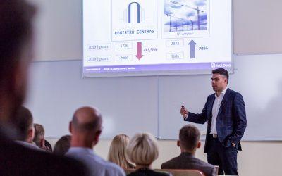 Seminaras apie NT rinką – Vilniaus būsto ir komercinio turto rinkos apžvalga (video įrašas)