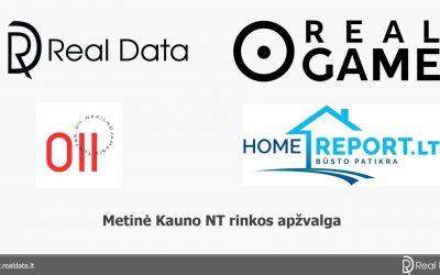 Metinė Kauno NT rinkos apžvalga ir būsto defektai (video įrašas)