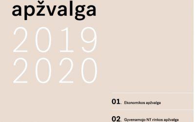 Metinė ekonomikos ir NT rinkos apžvalga 2019-2020